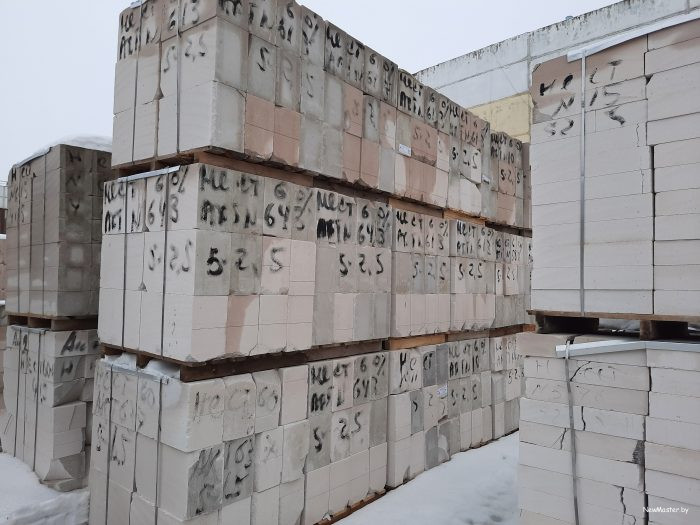газосиликатные блоки забудова некондиция 400мм